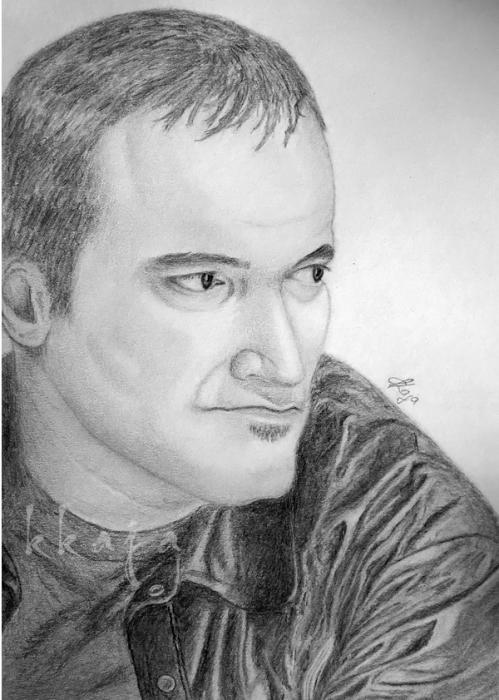 Quentin Tarantino by kkaja